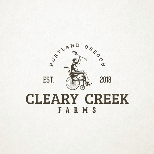 Classic Logo Design for Cleary Creek Farms