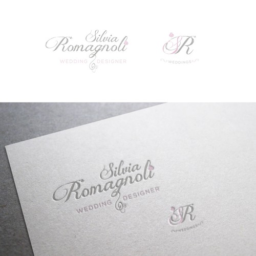 logo concept wedding designer