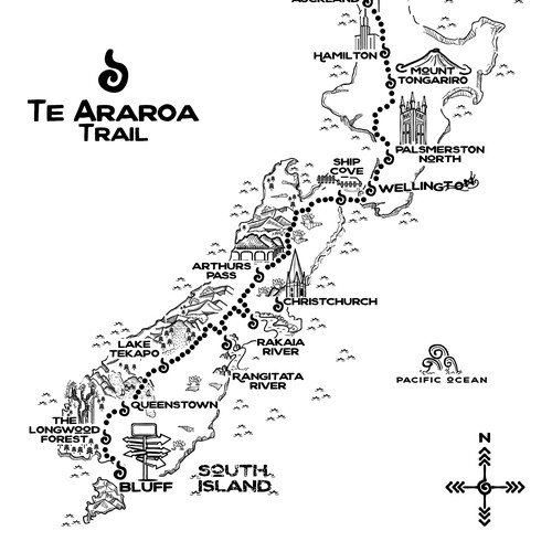 Te Araroa New Zealand trail