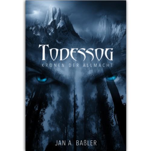 Cover design for fantasy book