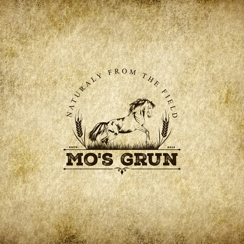 Logo design for Mo's Grun