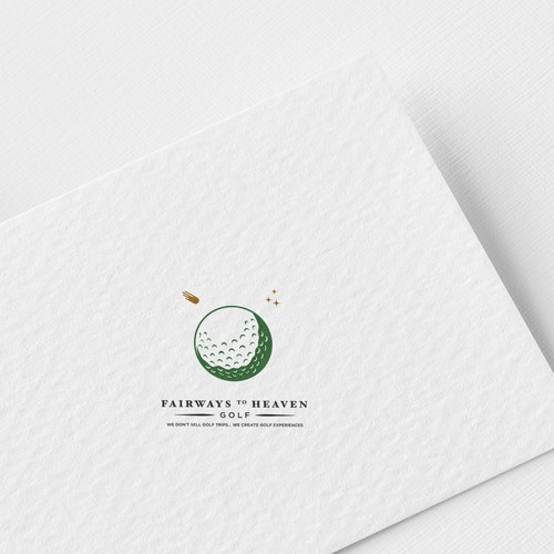 logo for a boutique golf travel company