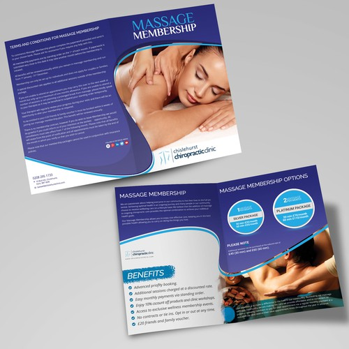 Massage leaflet