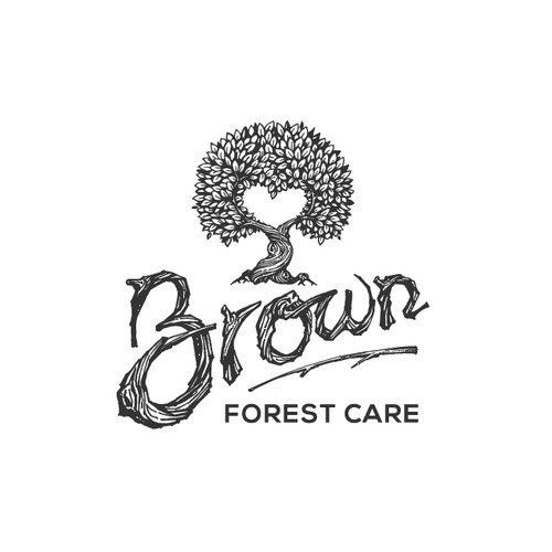 Logo Design Concept for Brown