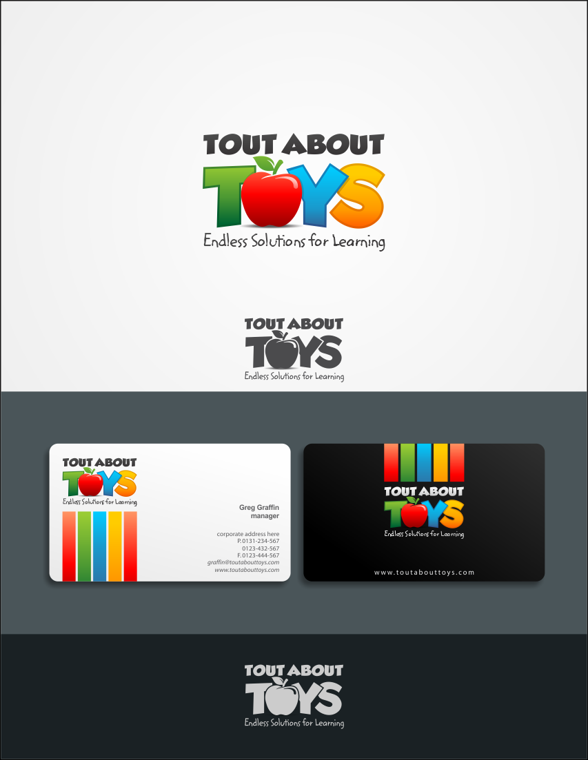 Tout About Toys needs a new logo