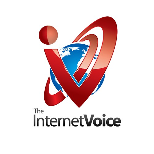 The Internet Voice Logo