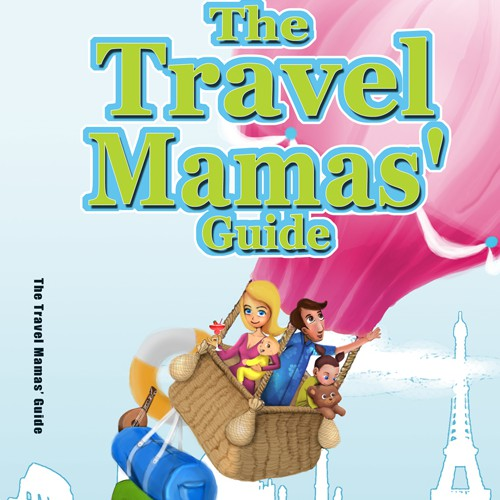 New book or magazine cover wanted for Travel Mamas