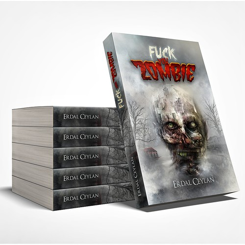 "book cover for ""Fuck you Zombie"""