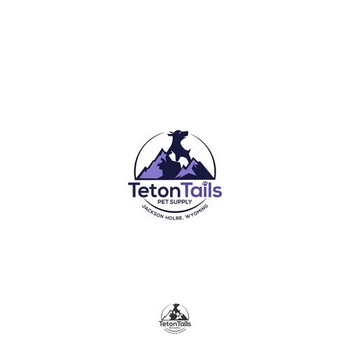 teton tails logo