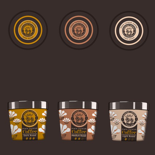 Gourmet coffee package