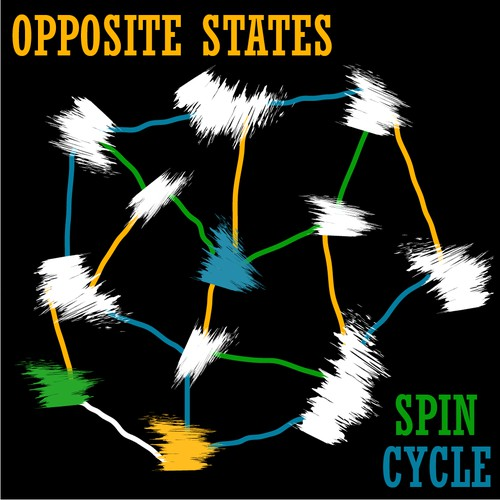 Artwork for an upcoming EP, entitled Spin Cycle x3