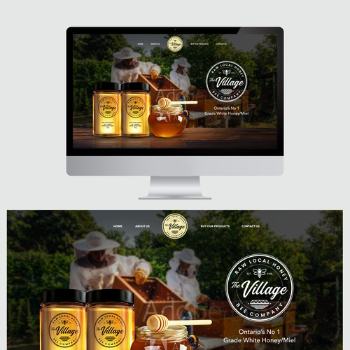 Website for Honey Product