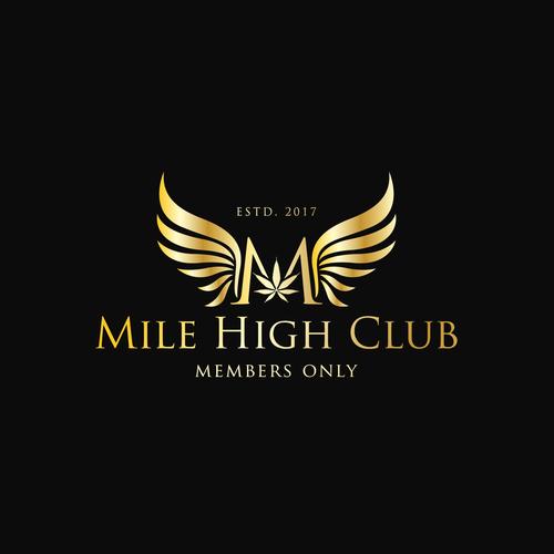 Marijuana Company Looking To Update Mile High Club Logo.