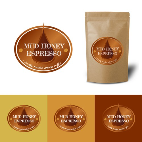 "Logo ""Mud honey espresso"""