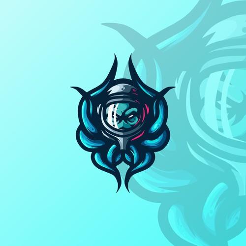 Human X Octopus Esport Logo