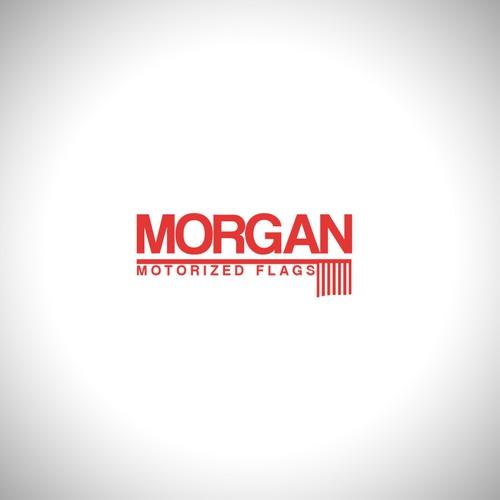 logo for Morgan Flags