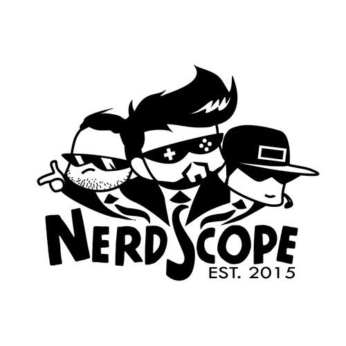 Gaming & Nerd Culture Logo