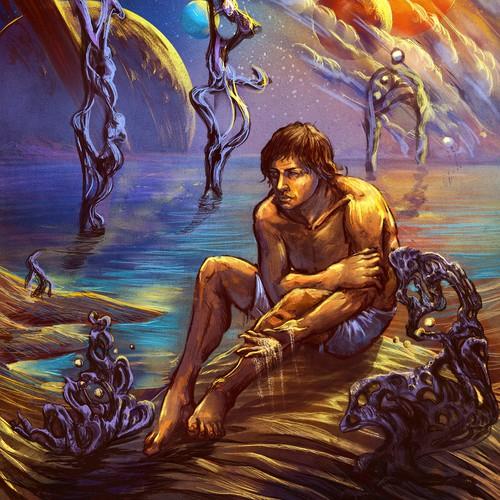 Strange Sci-fi/fantasy art. 60s-70's style