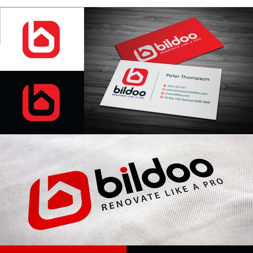 New logo and business card wanted for Bildoo