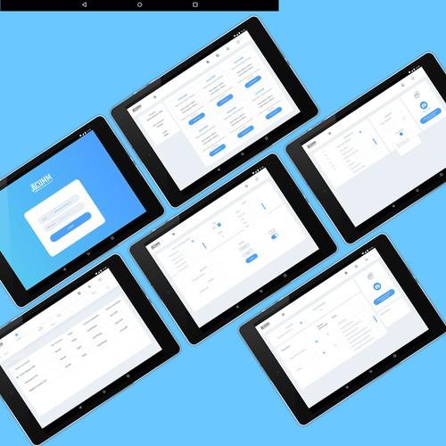 Medical App Design for tablet - Mercy