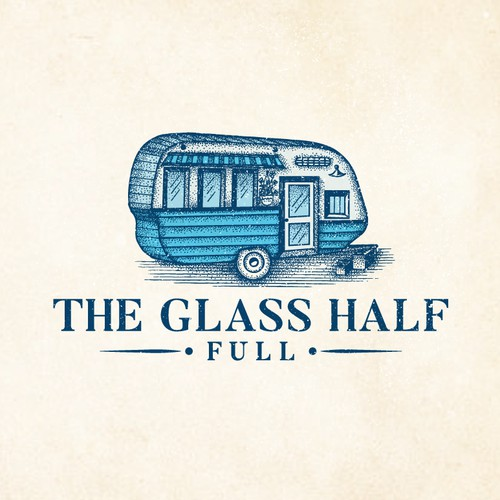 Design a fabulous logo for a fleet of vintage mobile bars