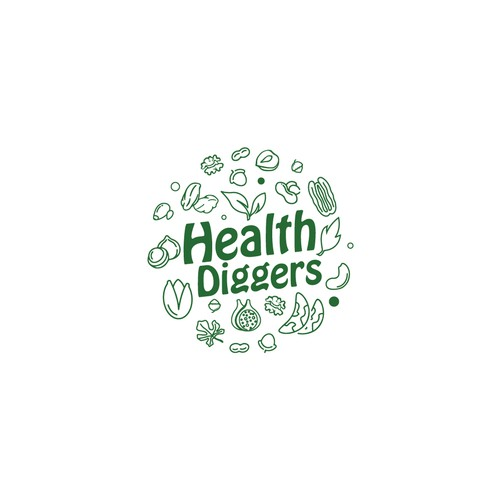 Logo for Health Diggers
