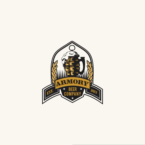Creative logo for brewery