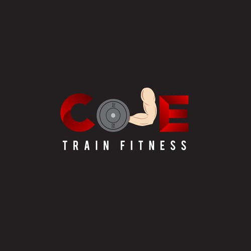 2nd Logo concept for Cole Train fitness
