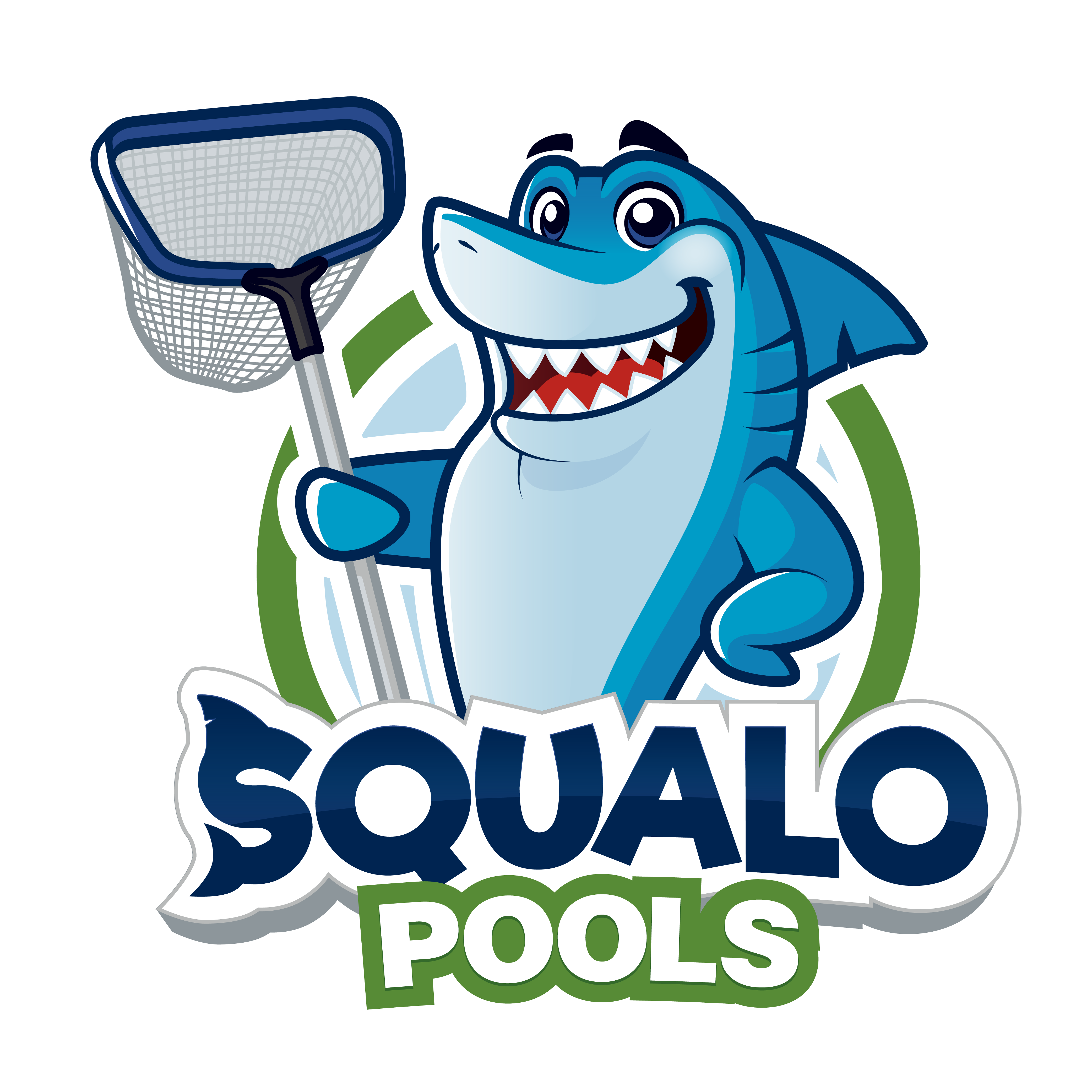 Create a powerful logo for the best pool company in South Florida