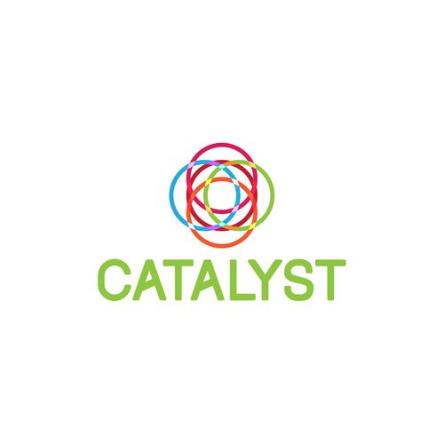 Modern logo concept for tech company