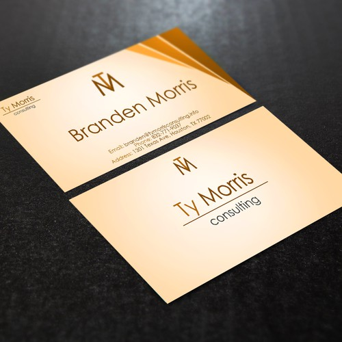 I want to attract the creative business professional with my business card