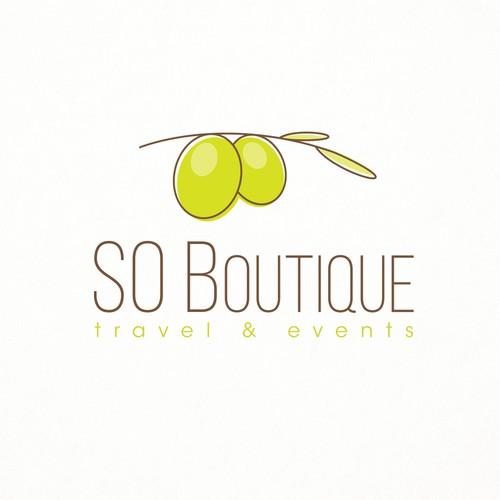 Fresh and Feminine Logo Design for Travel Company