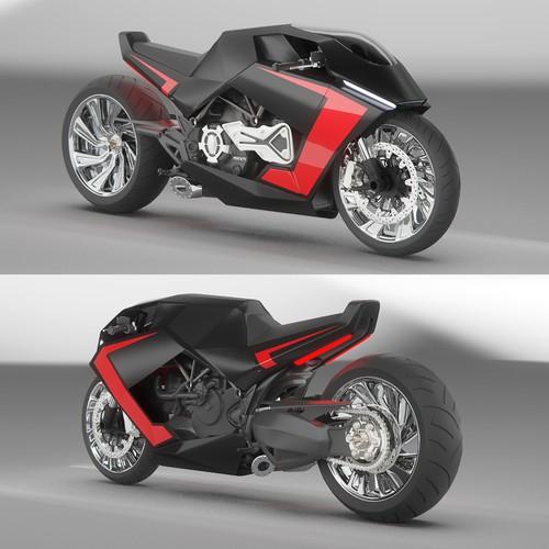 Futuristic & Contemporary Motorcycle Design