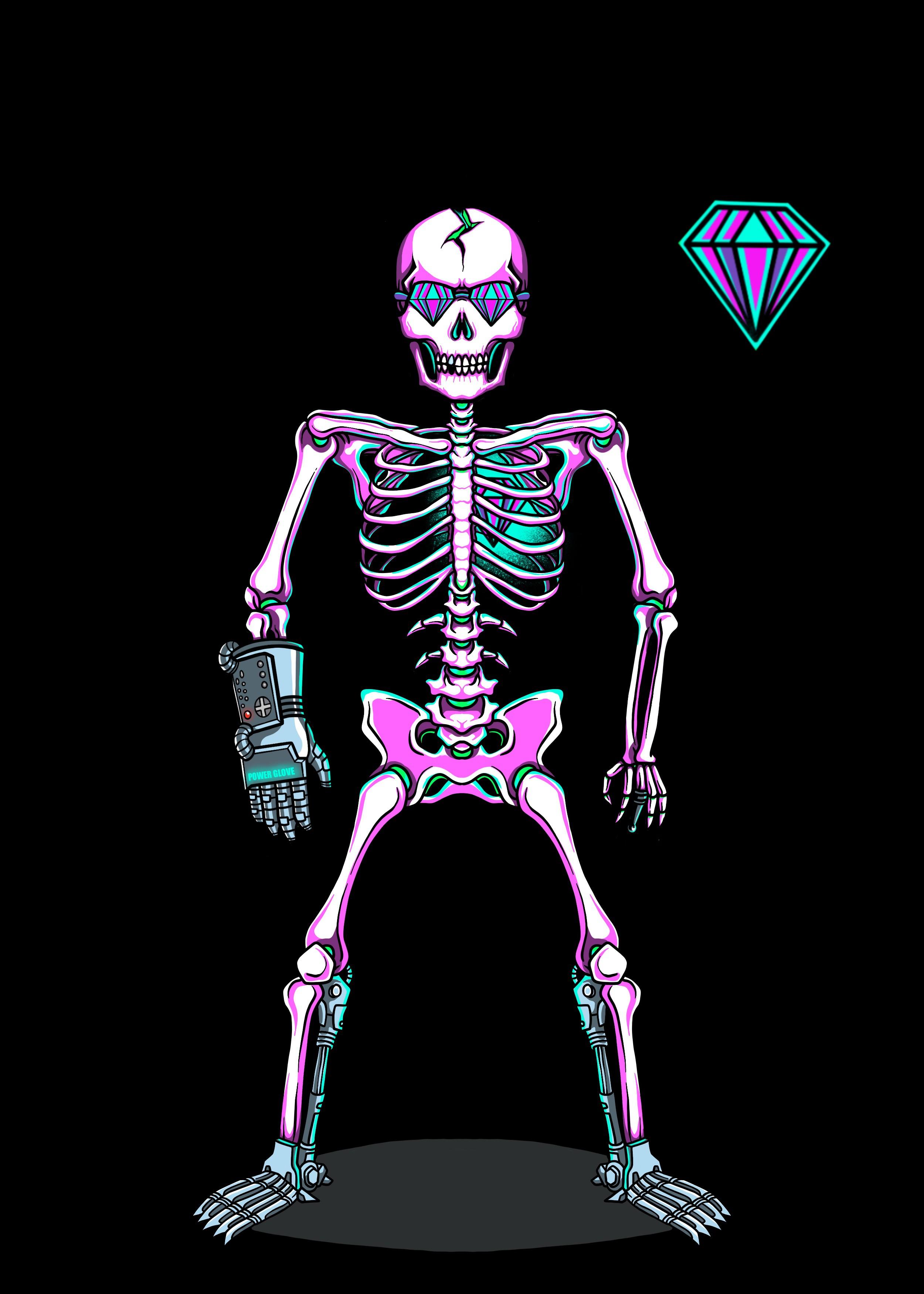 Anti.biz needs a 2D skeleton character design