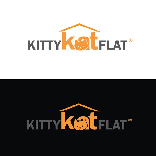 Logo for cat related business
