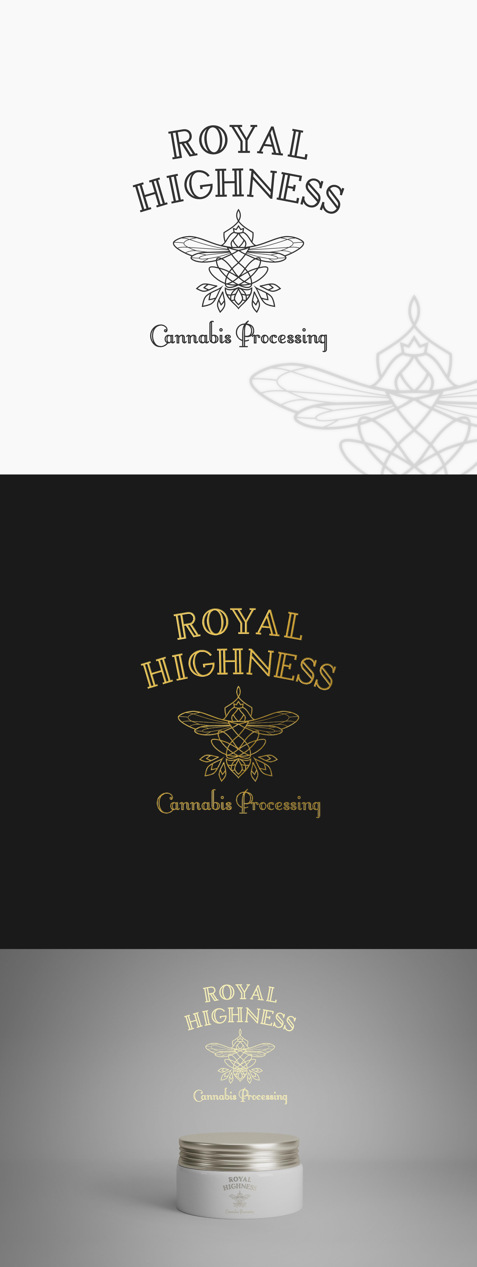 Royal Highness Cannabis Processing Logo