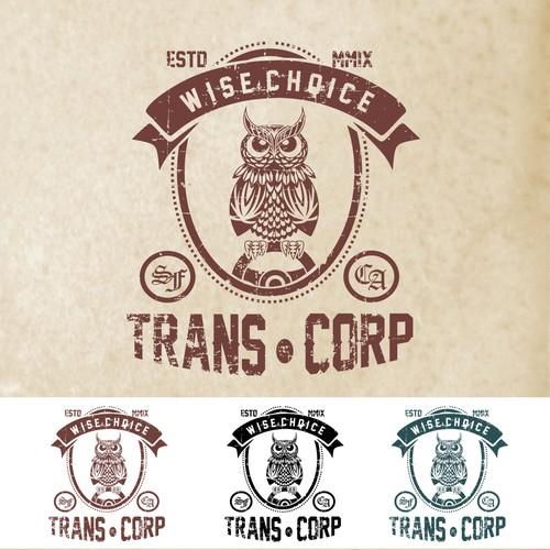 Logo concept for Trans.Corp