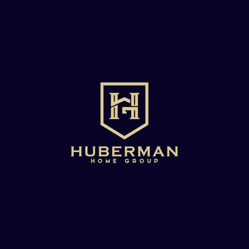 A concept logo for Huberman Home Group