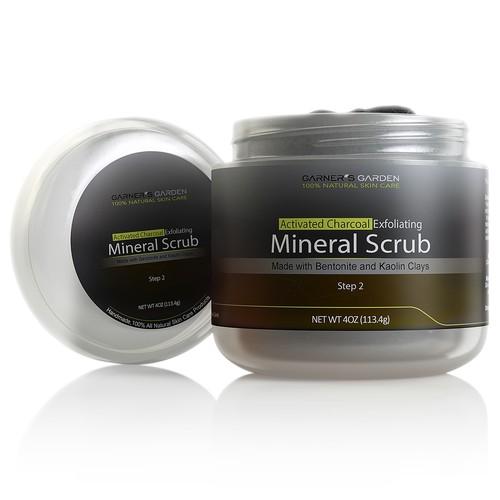 Charcoal Mineral Scrub