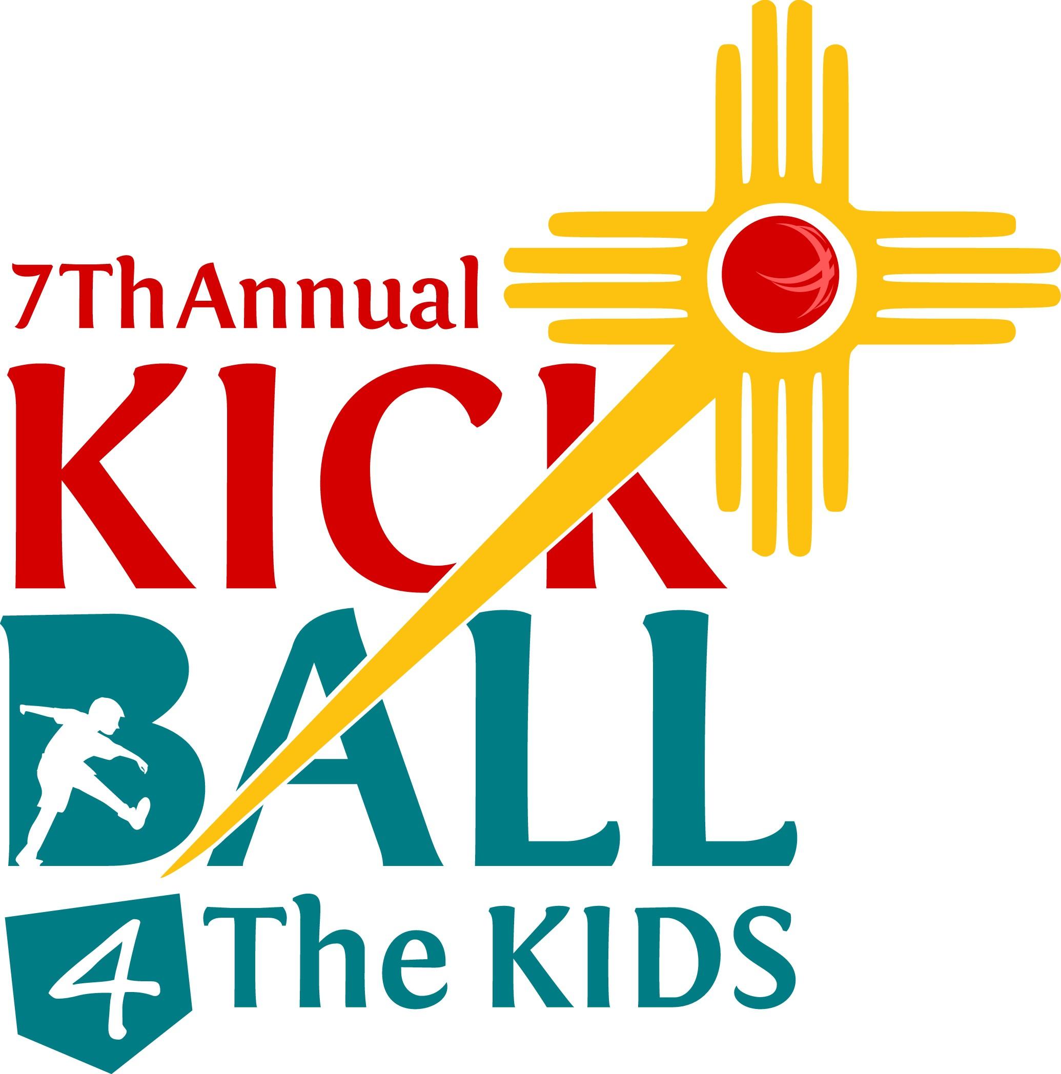 Kickball For The Kids Logo