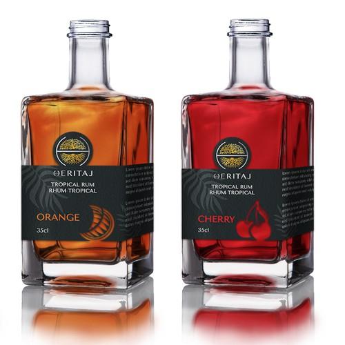 Heritaj Bottle Labels