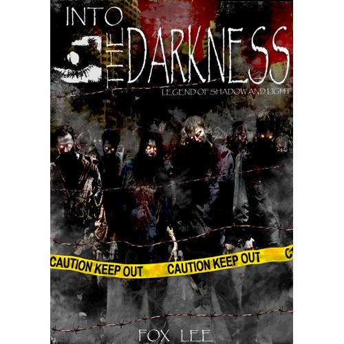 Create a Striking Book Cover for a Multi-Book Series in Dark Thriller / Horror / Zombie Genres