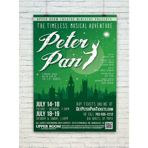 """PETER PAN"" Musical Theater Production"