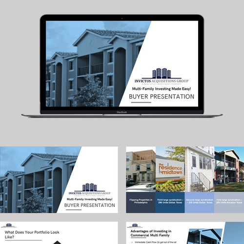 Powerpoint for real estate company