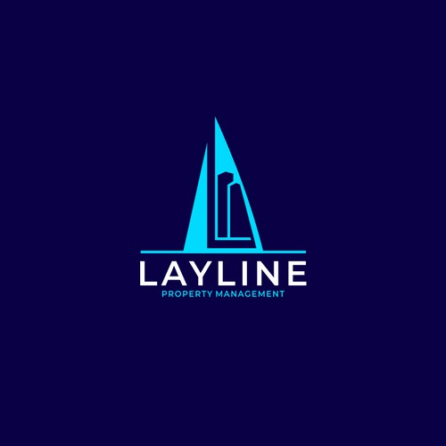 Logo Design For Layline Property Management