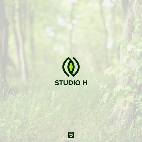 Bold logo for Studio H