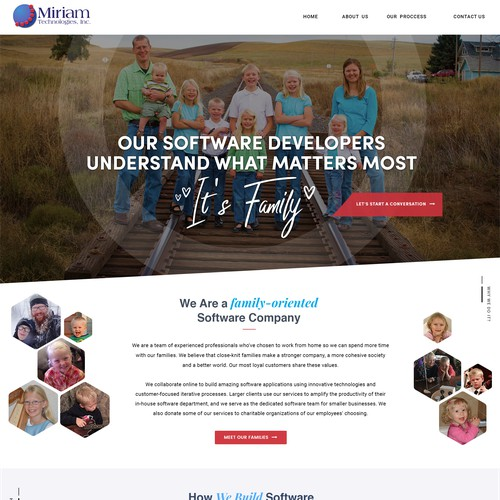 Family Oriented Web Design - Old Style