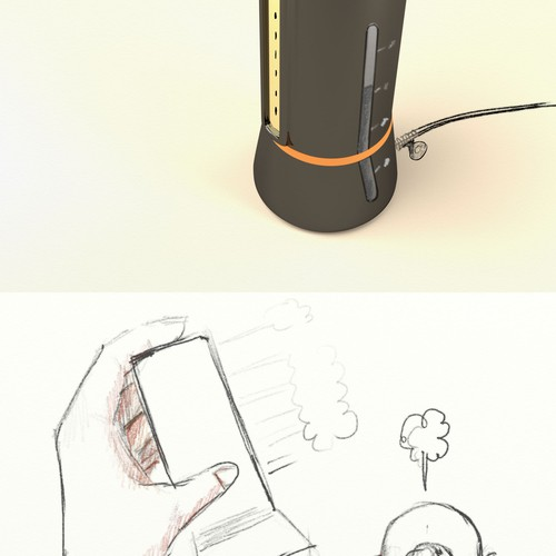 Steamer product design
