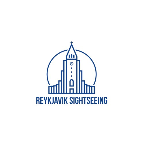 Logo proposal for REYKJAVIK SIGHTSEEING