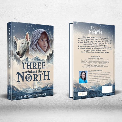 Three against the North - Book Cover